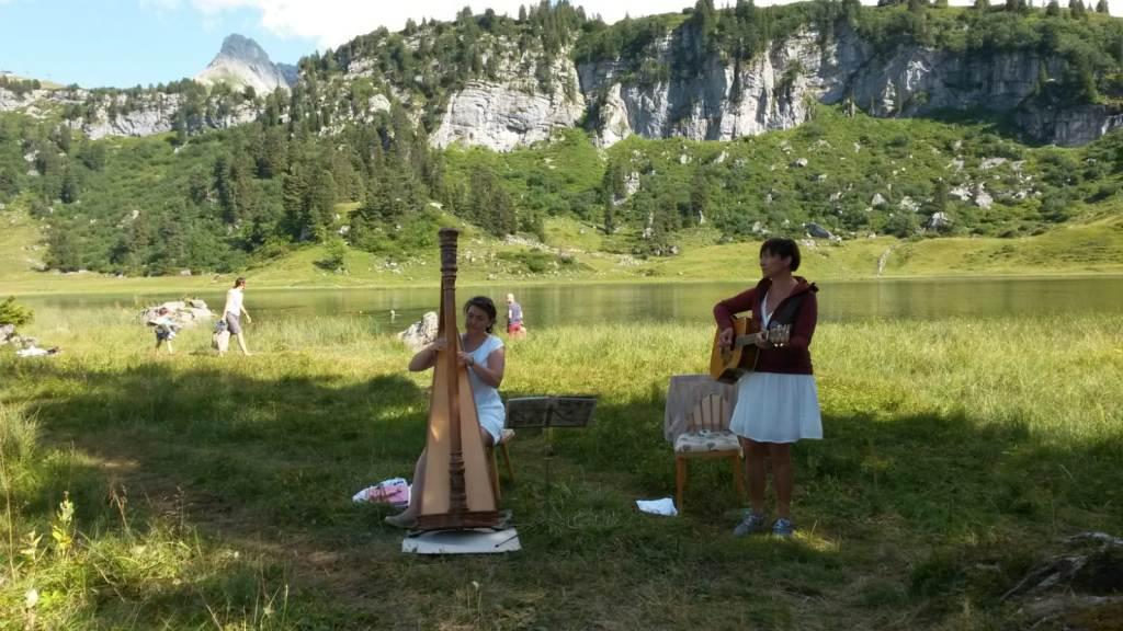 Leise Klänge am See: Musik am schönsten Platz Österreichs